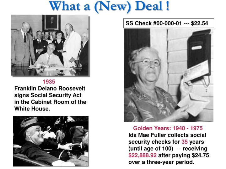 What a (New) Deal !