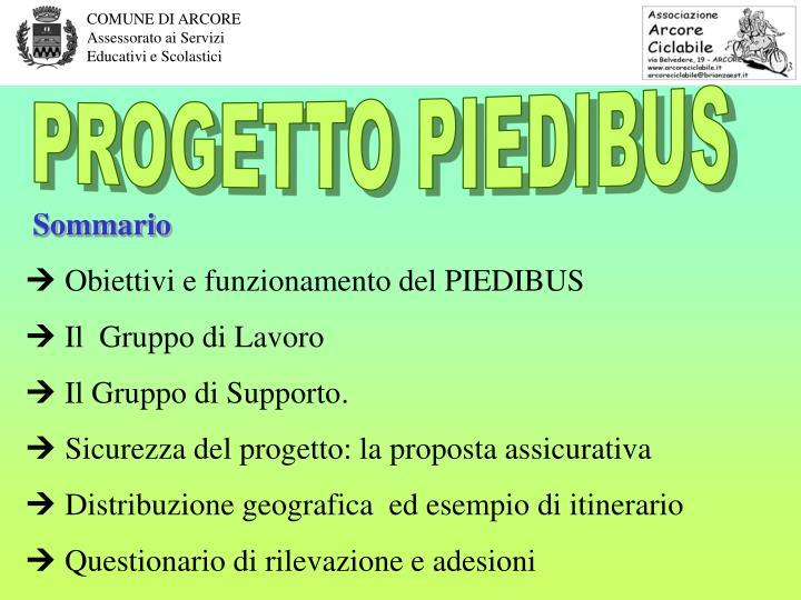 PROGETTO PIEDIBUS