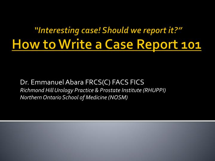 writing a case report Learn how to write a case brief for law school with a simple explanation from lexisnexis this is a great resource to help rising first year law students or prelaw students prepare for classes.
