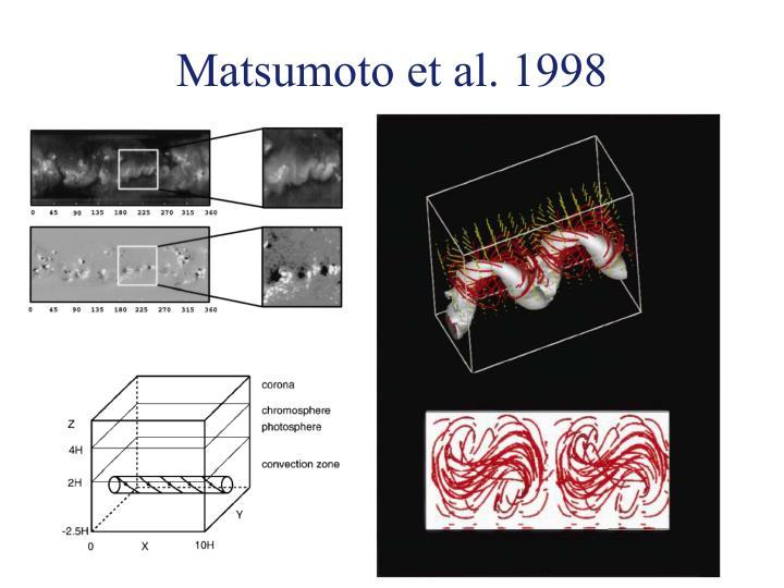 Matsumoto et al. 1998