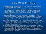 thomas morus 1478 1535
