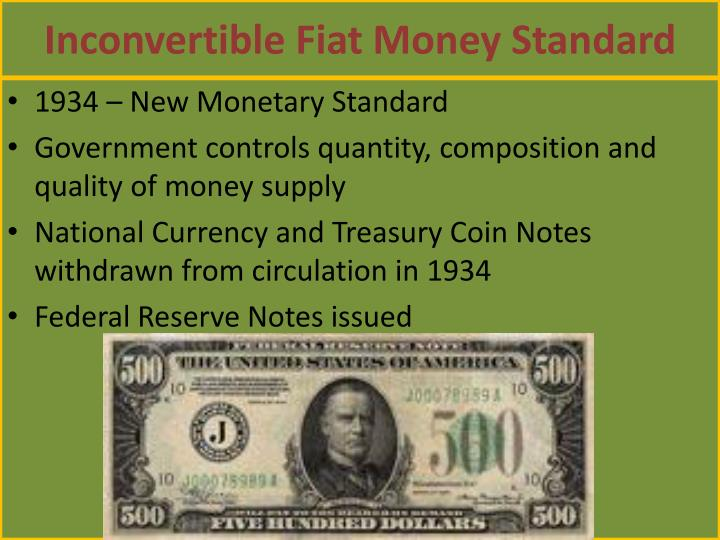 PPT - The Evolution of Money PowerPoint Presentation - ID:4101343