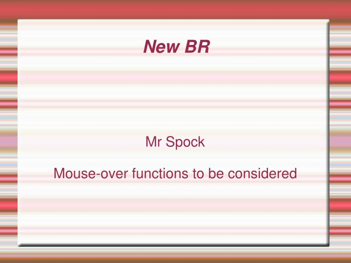 mr spock mouse over functions to be considered n.