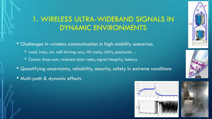 1 wireless ultra wideband signals in dynamic environments
