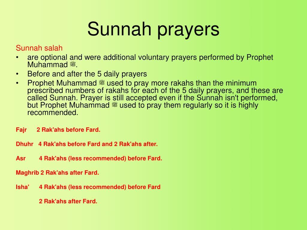 When to pray fajr sunnah