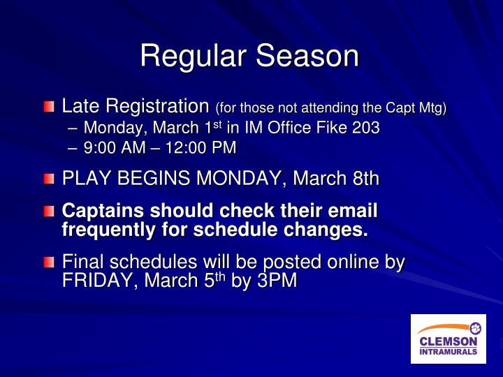Regular Season