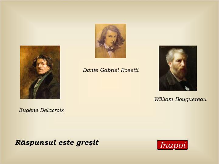 Dante Gabriel Rosetti