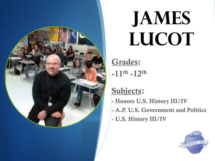 James lucot1
