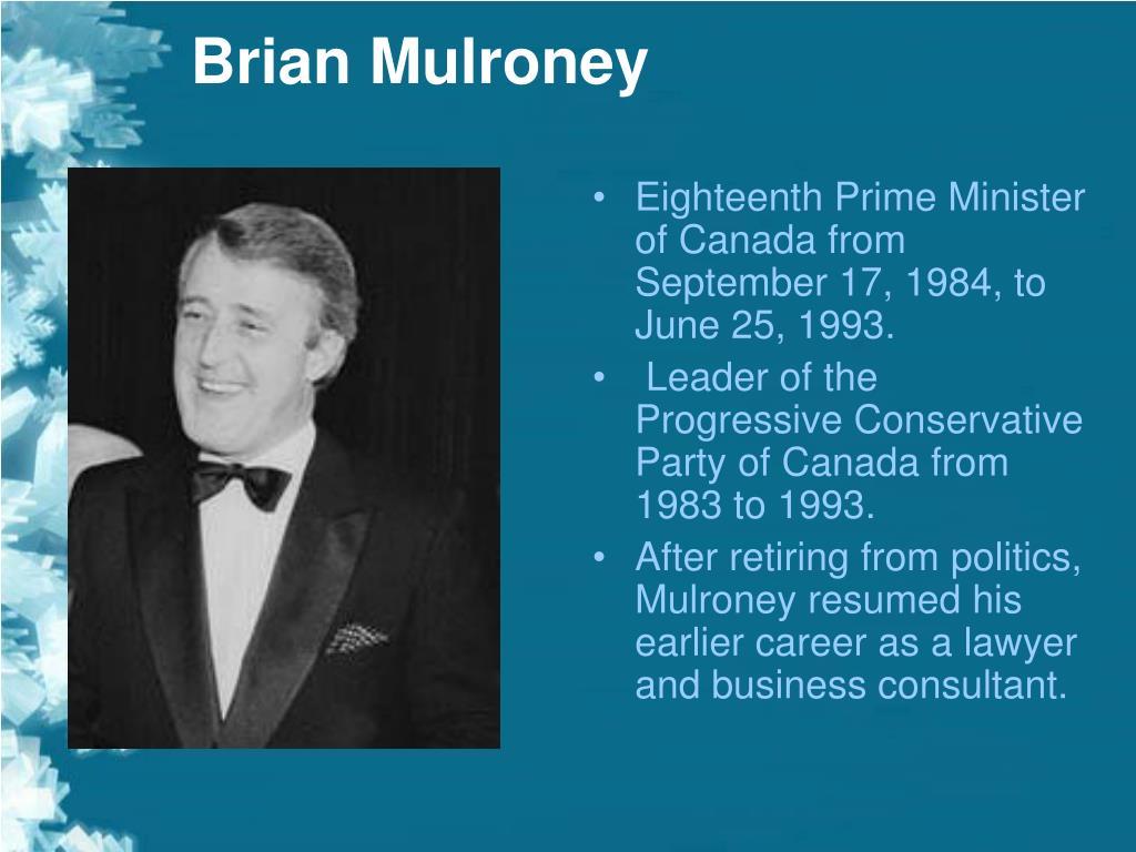 brian mulroney biography