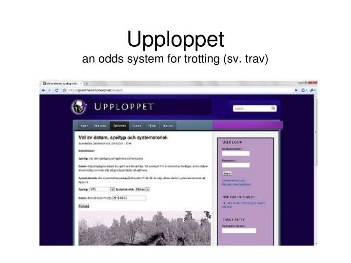 Upploppet