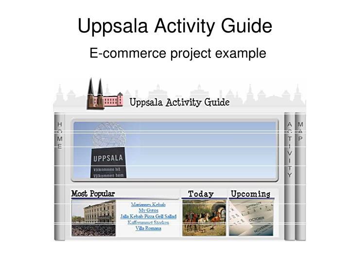 Uppsala Activity Guide