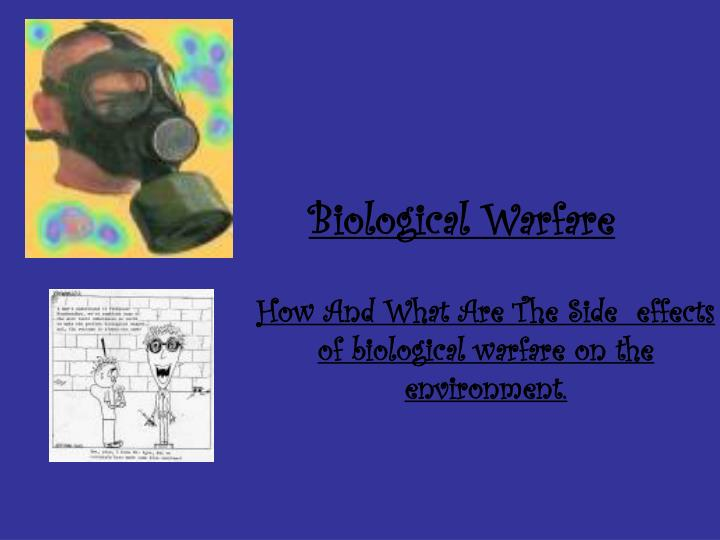 explaining why biological warfare cannot be explained Some biological agents, such as anthrax, do not cause contagious diseasesothers, like the smallpox virus, can result in diseases you can catch from other people if there is a biological threatunlike an explosion, a biological attack may or may not be immediately obvious.