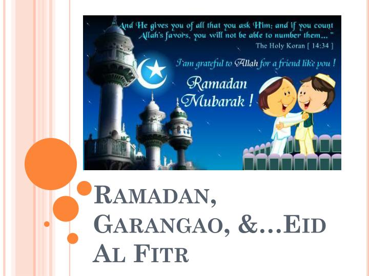Ramadan garangao eid al fitr