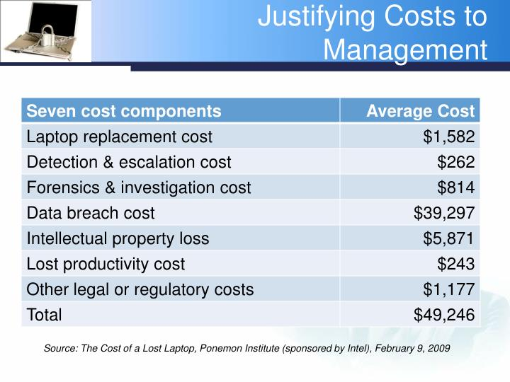 cost justified