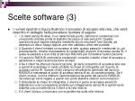 scelte software 3