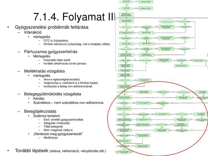 7.1.4. Folyamat III.