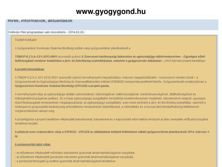 www.gyogygond.hu