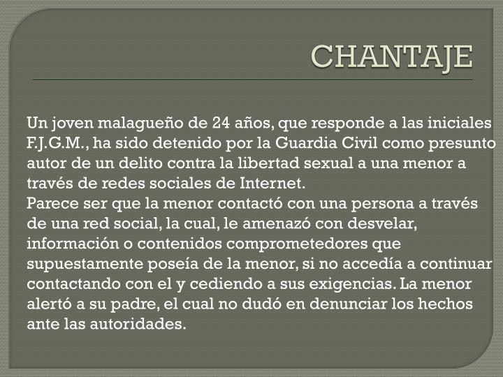 Chantaje1