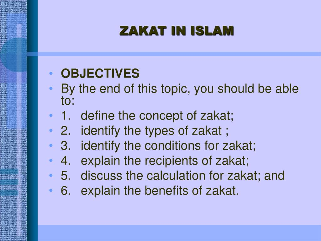 Ppt Zakat In Islam Powerpoint Presentation Free Download Id 4105490
