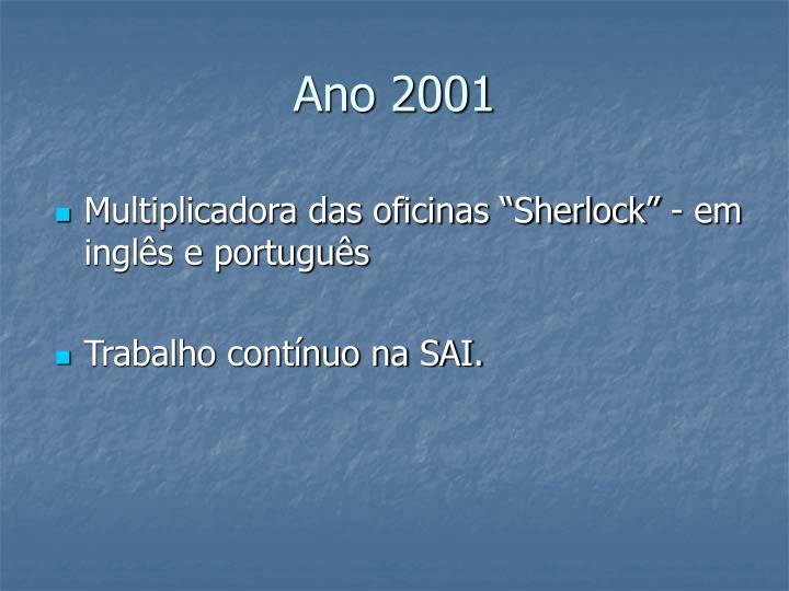 Ano 2001