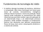 fundamentos da tecnologia de rob s