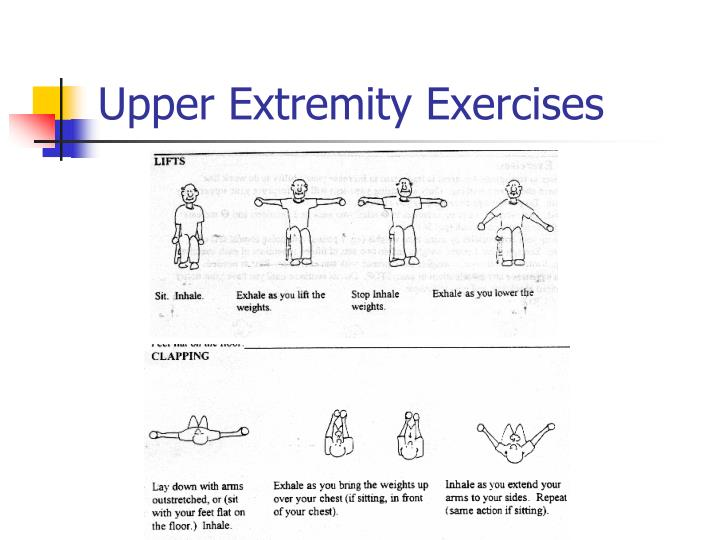 Upper Extremity Exercises