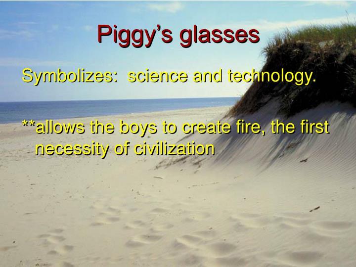 Piggy's glasses