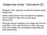 comparison study discussion i