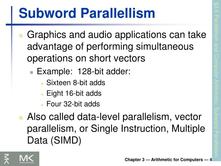 Subword Parallellism