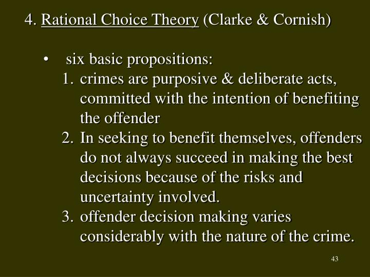 rational choice theory latent trait Trait theories of jeffrey dahmer tiffany conder, christine steeves, alexis murray rational choice theory the view that crime is a function of a decision making process in which the potential offenders weigh the potential cost and benefits of an illegal act psychodynamic a branch of psychology holding that the human personality is controlled by unconscious mental processes developed early in.