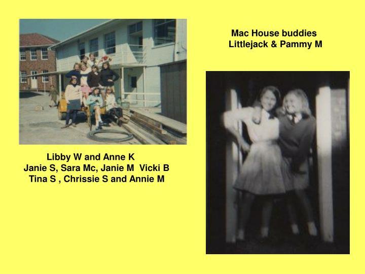 Mac House buddies