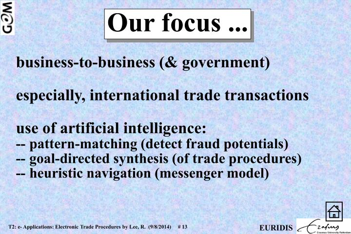 business-to-business (& government)