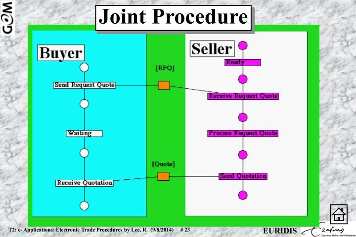 Joint Procedure