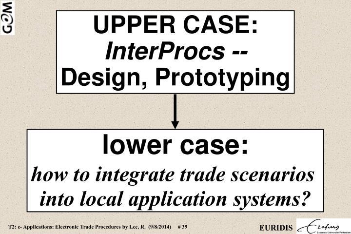 UPPER CASE: