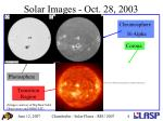 solar images oct 28 2003