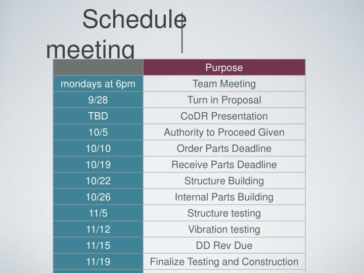 Schedulemeeting