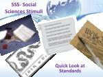 sss social sciences stimuli1