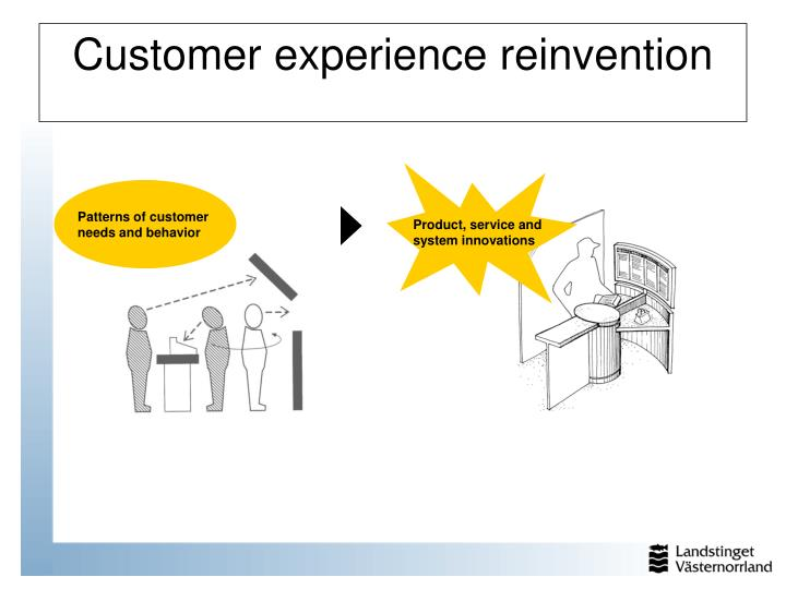Customer experience reinvention