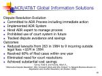ncr at t global information solutions