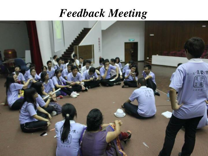 Feedback Meeting