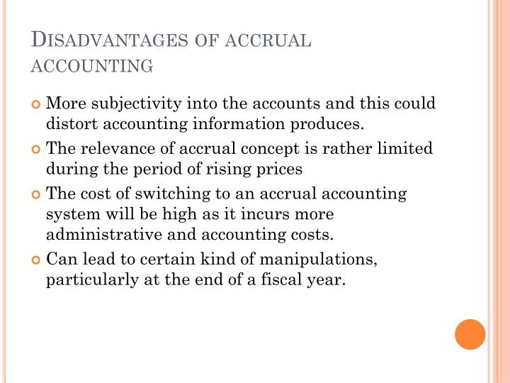 advantages and disadvantages of accounting information system