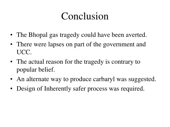 the bhopal gas tragedy essay For 33 years, around 336 tonnes of hazardous waste have been lying at the union carbide india limited (ucil) factory, the site of the infamous 1984 bhopal gas tragedy.