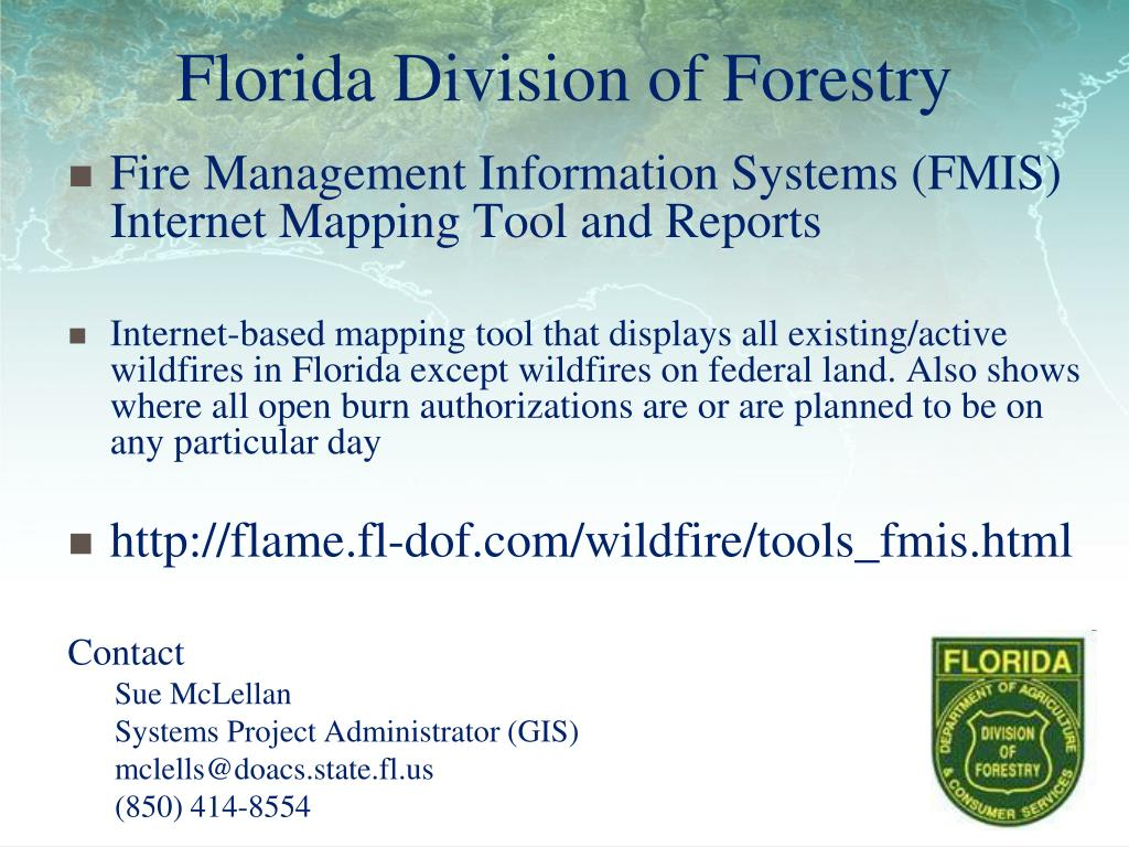Ppt Florida Division Of Forestry Powerpoint Presentation Id 4109158