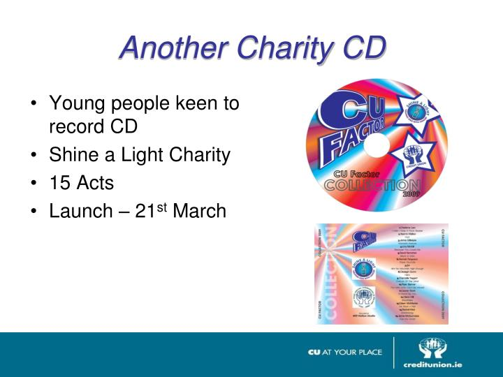 Another Charity CD
