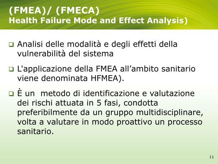 (FMEA)/ (FMECA)