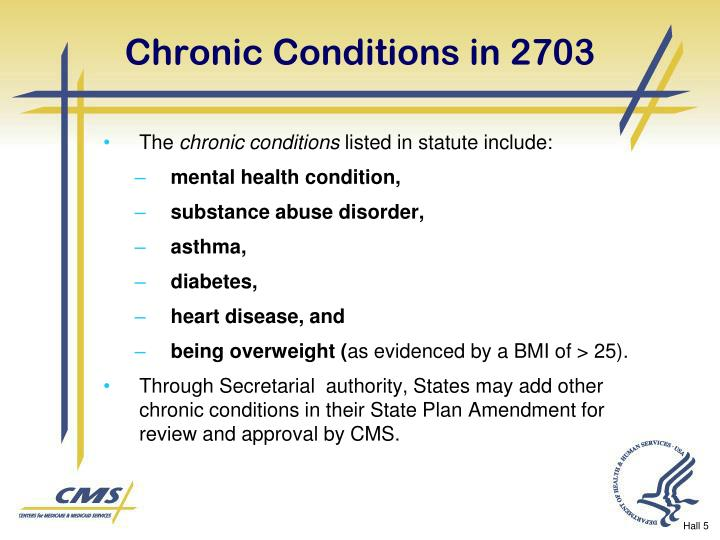 Chronic Conditions in 2703