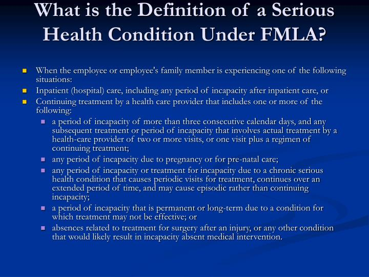 PPT - FMLA OVERVIEW AND INSTRUCTIONS PowerPoint ...
