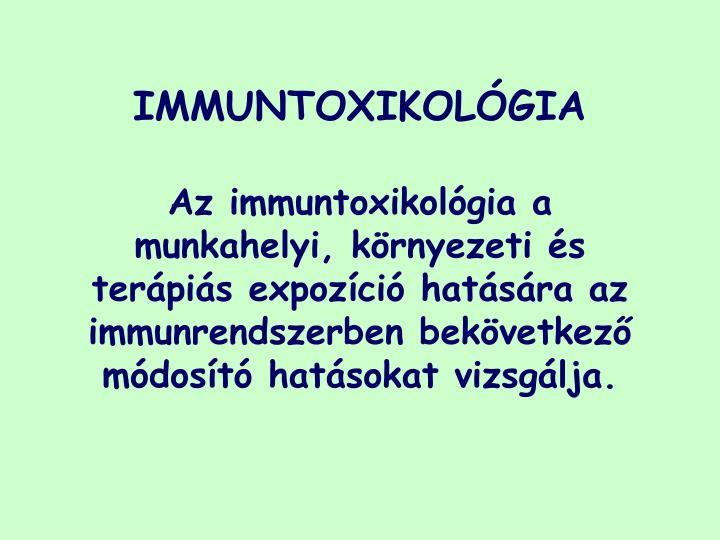 Immuntoxikol gia