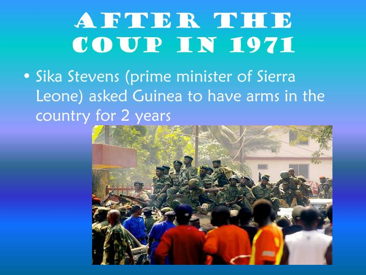 After the Coup in 1971