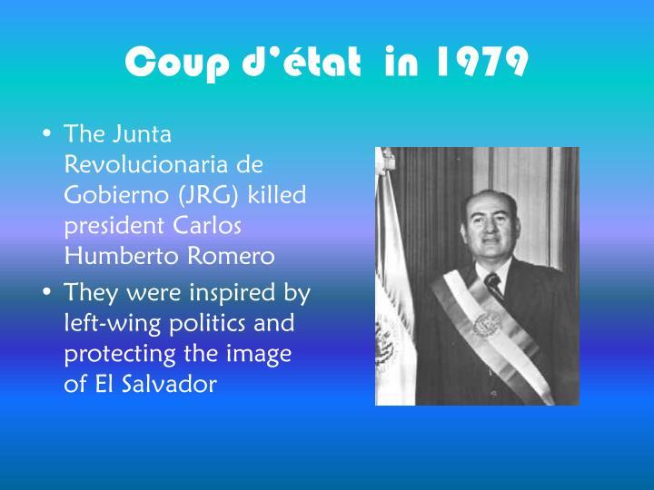 Coup d'état  in 1979